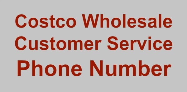 Costco Wholesale Customer Service Phone Number