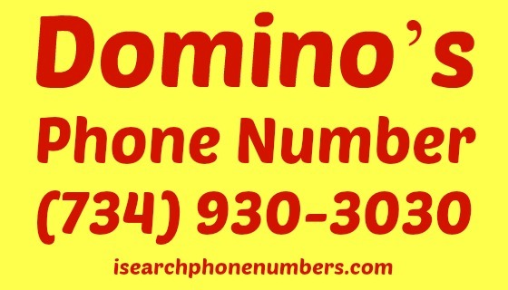 Domino's phone number