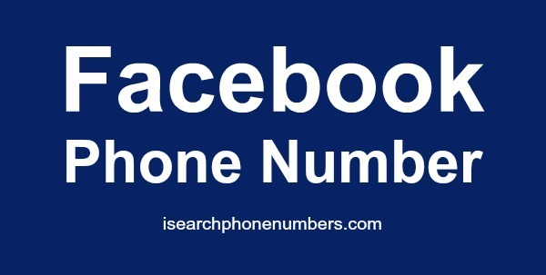 Facebook Phone Number