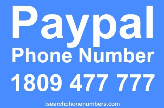 Paypal phone number