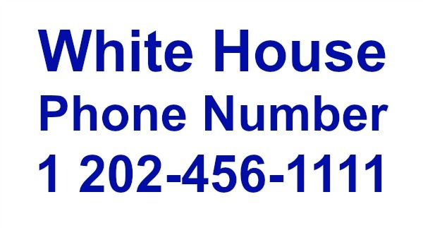 White House Phone Number